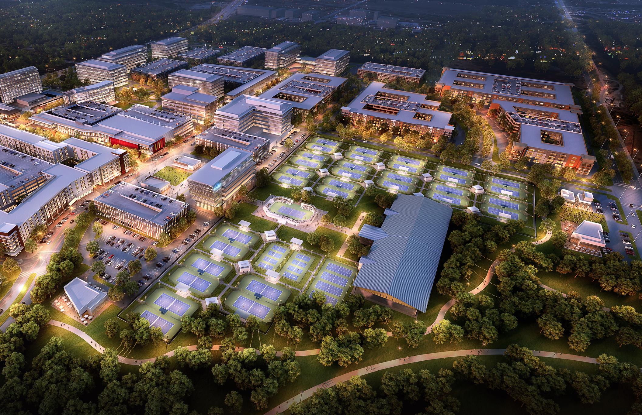 Cedar Park touts proposed deal to bring US Tennis HQ to $1.5 billion Indigo Ridge development